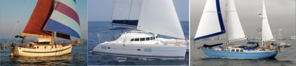 28' monohull, 41' catamaran, 42' monohull (compromise!)
