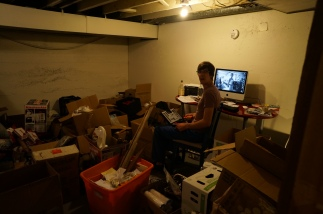 Craig in the Capitol Hill house chaos