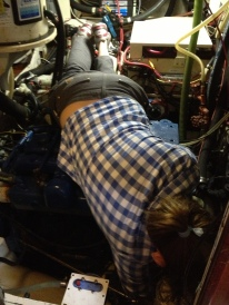 K lays on the engine like a boss.