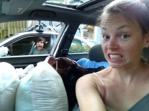 The last load of stuff to move to the boat (for now)!