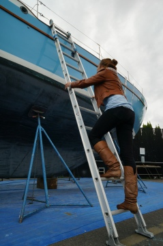 K on ladder