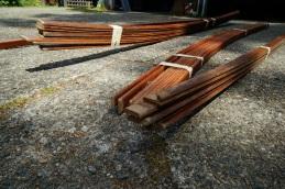 bundled planks