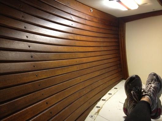 planks reinstalled