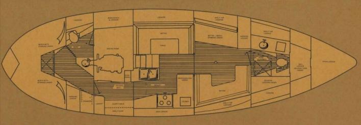 Westsail 42 Interior