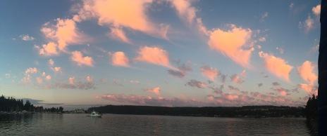 Northwest sunset