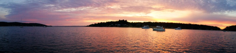 San Juan Islands sunset