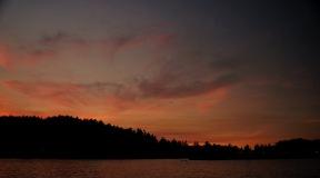 San Juan Islands sunset