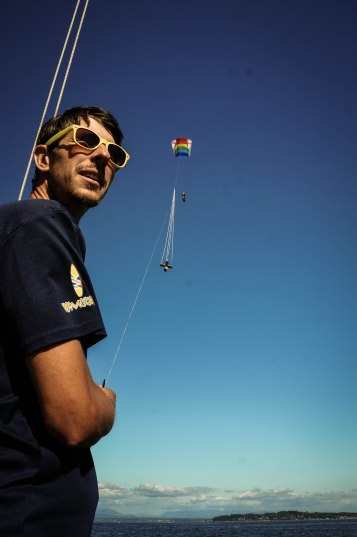 A man and his kite. What a classic.