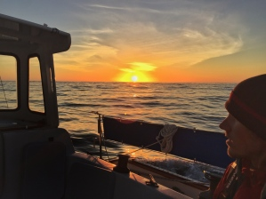 Cody at sunset.