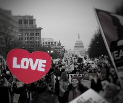 I'm not sure if love trumps hate, but I'm willing to take my chances.
