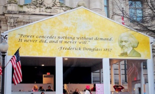 I hear Frederick Douglas is doing some great things and getting some great attention.